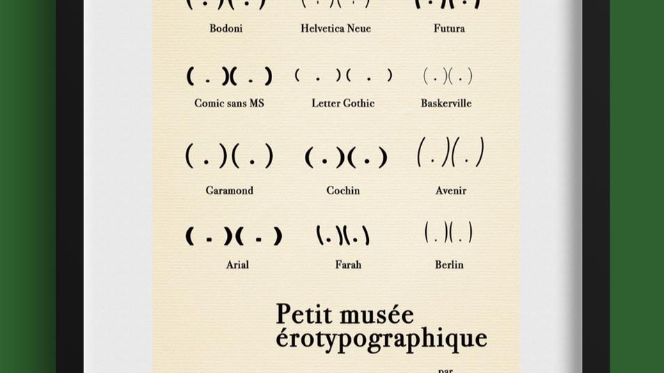 Petit musée érotypographique