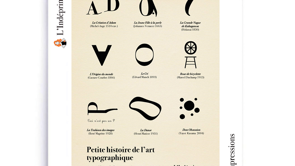 la petite histoire de l'art typographique