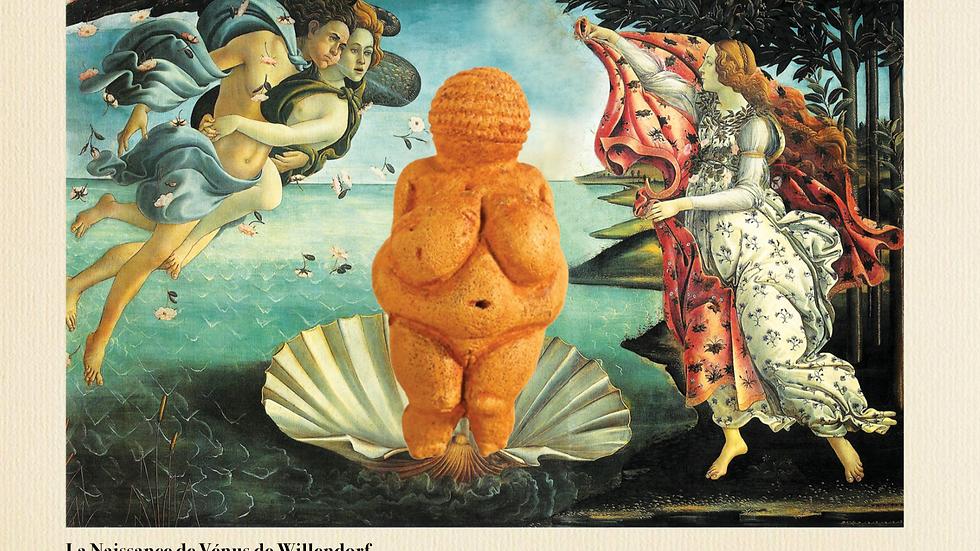 La Naissance de Vénus de Willendorf