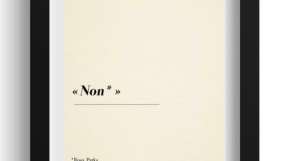 NON de Rosa Parks