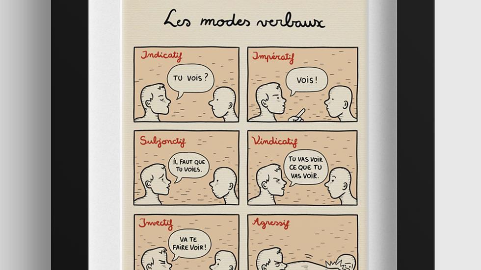 Les modes verbaux