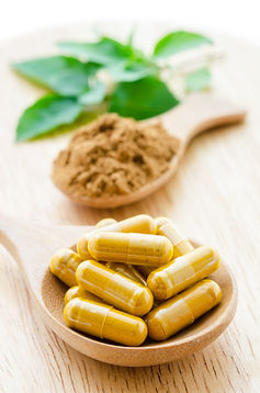 herbal medicine powder and capsules with