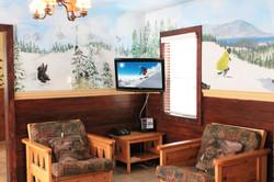 Livingroom TV w. TV