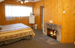 Bedroom Fireplace w. Fire