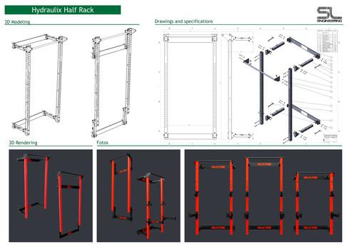 Portfolio-The VSPX Hydraulix Half Rack.j