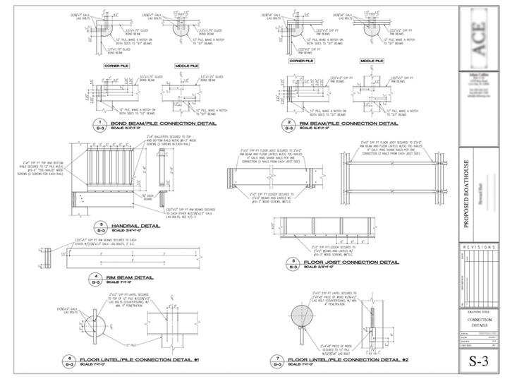 Wood frame detailing