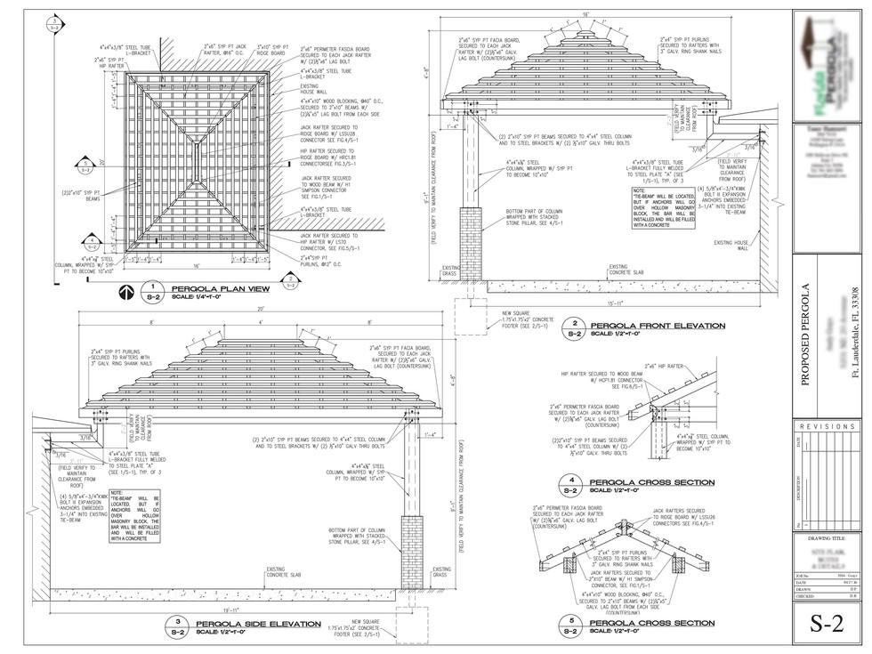 Wood structure design