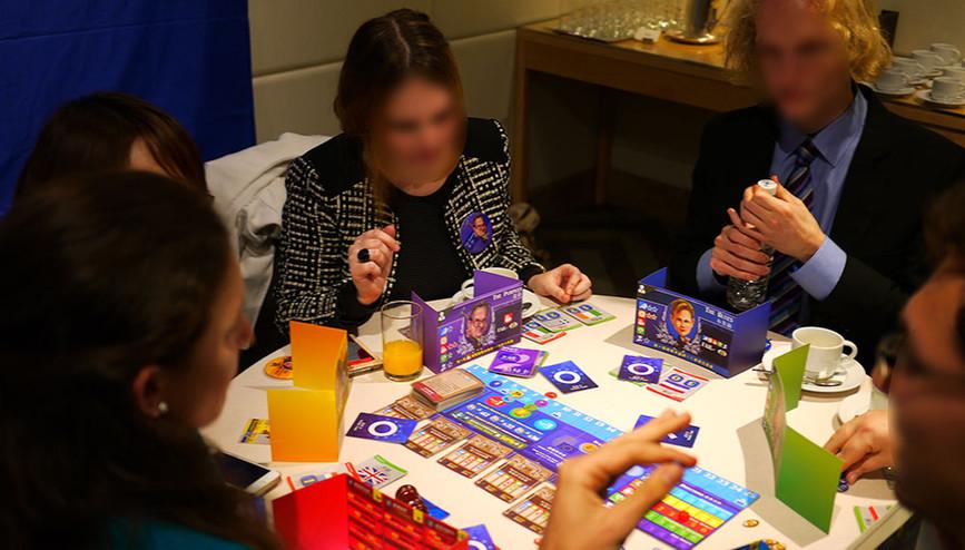 歐洲經貿辦事處-審議法案擬真流程遊戲化