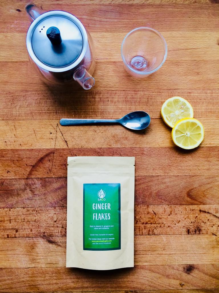ginger and lemon tea