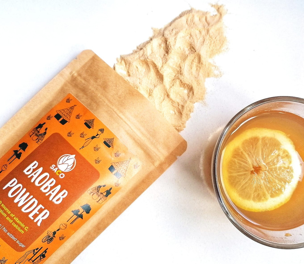 Baobab Hot Drink recipe - image of @sacosuperfods