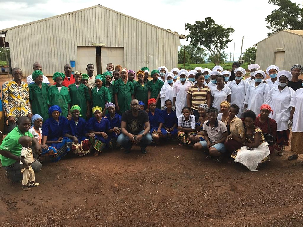 Cooperative of mango producers SACO works with