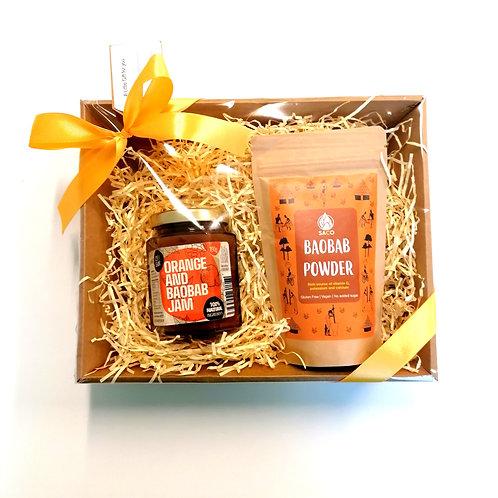 Baobab Powder &   Baobab Jam Gift Set