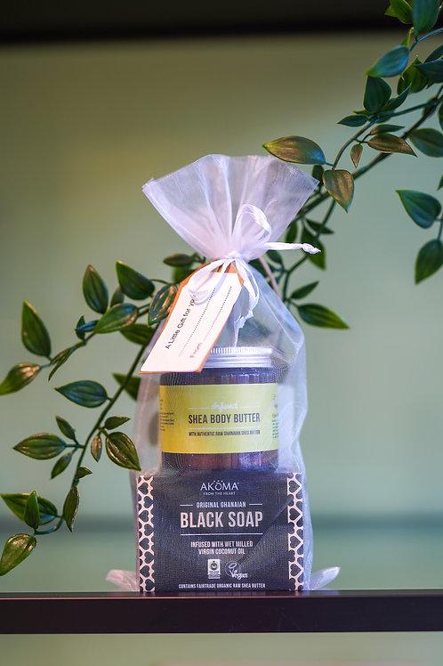 Shea Butter Lemongrass gift set