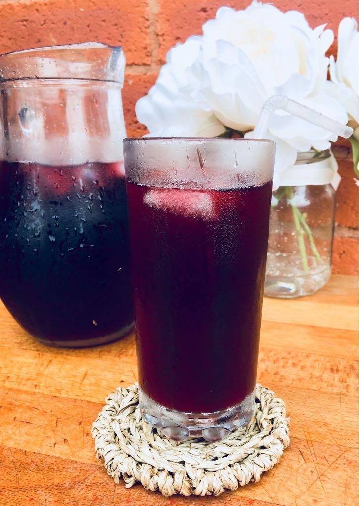 Homemade Hibiscus Juice
