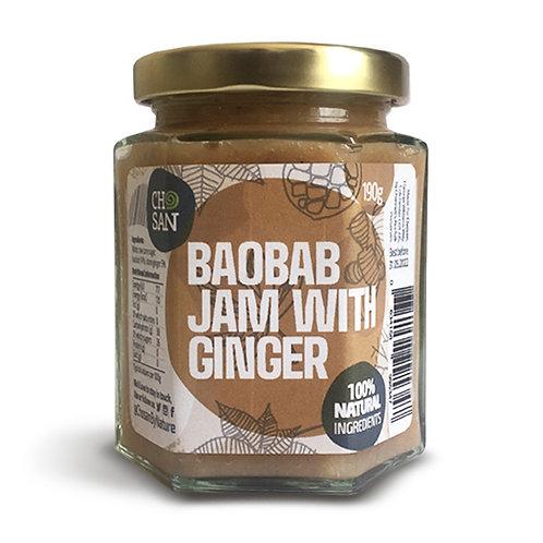 BAOBAB JAM WITH GINGER - 190g