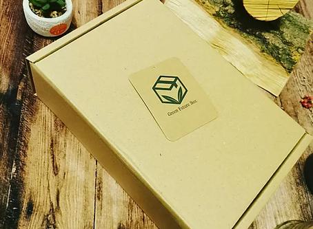 SACO Ginger Flakes and the Green Future Box