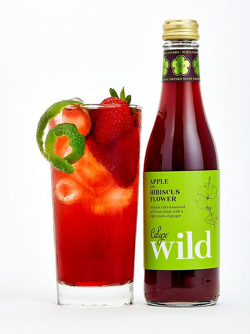 Apple and Hibiscus Flower Juice
