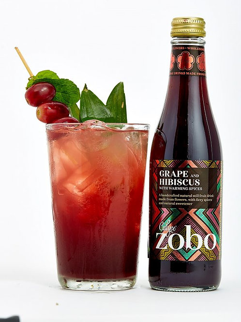 Zobo Grape and Hibiscus Flower Juice