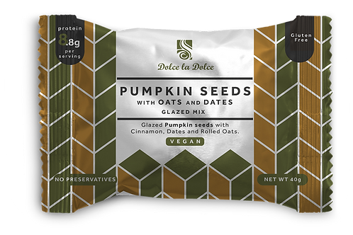 Pumpkin Seeds with Rolled Oats
