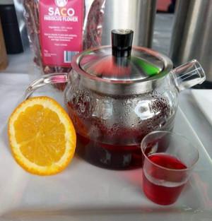 HIBISCUS & ORANGE TEA