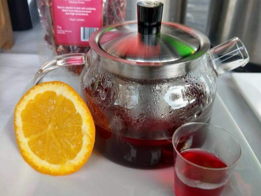 HIBISCUS & ORANGE TEA