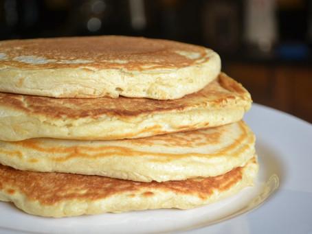 Vegan pancakes - Who said vegan can't enjoy pancakes?