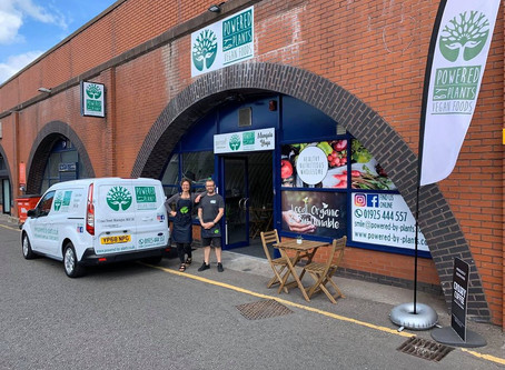 Powered by Plants - Warrington's First Zero Waste, Plant-Based shop