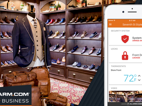 Stay in Control with the Alarm.com for Business App