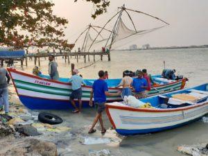 Visserij in Cochin