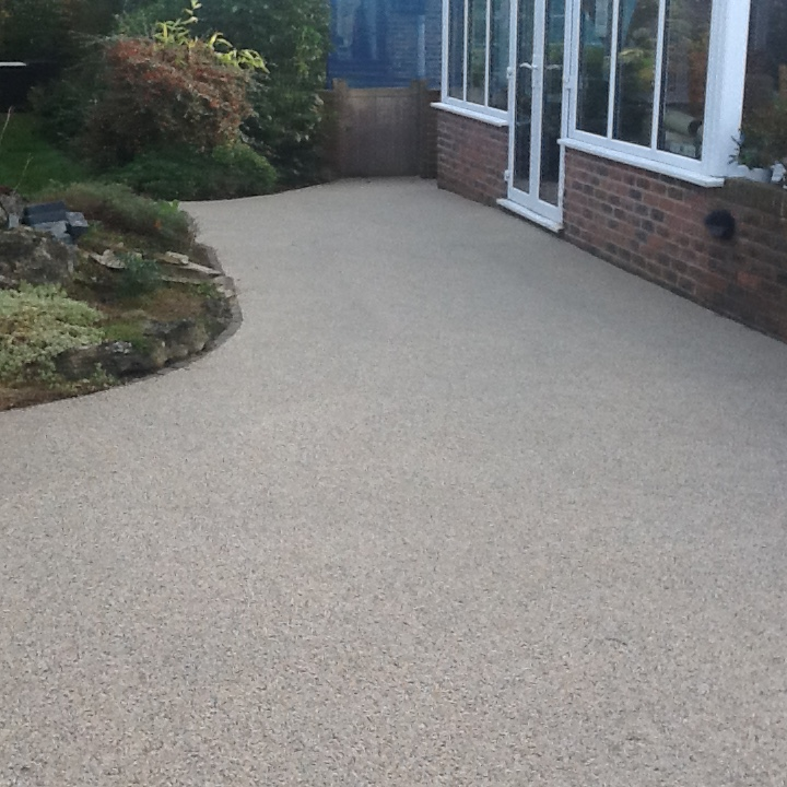 Resin Bound Surface on Path Kent