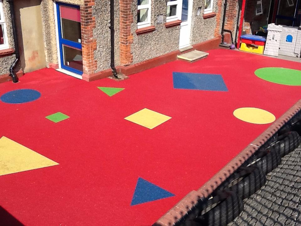Resin Bound school playground