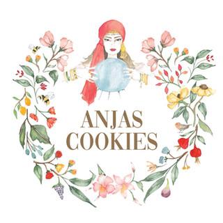 Anjas Cookies Logo
