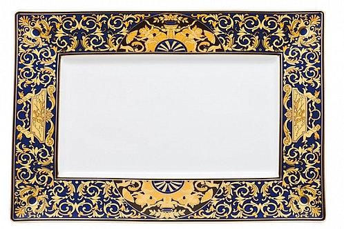 Тарелка прямоугольная Asia Medusa Blue, Versace&Rosenthal
