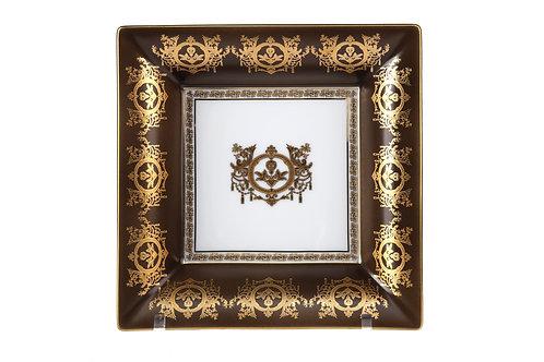 Чаша квадратная Ritz Club Imperial (Bronze), Haviland