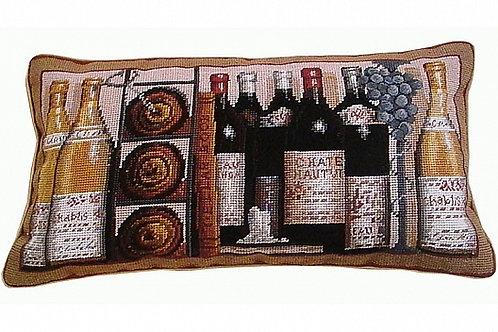 Диванная подушка Wine Bottles, Chelsea Textiles