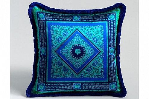 Диванная подушка (синий орнамент), Versace Home