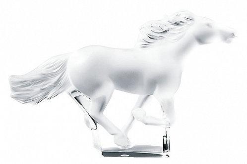 Скульптура «Конь» бесцветный, Lalique