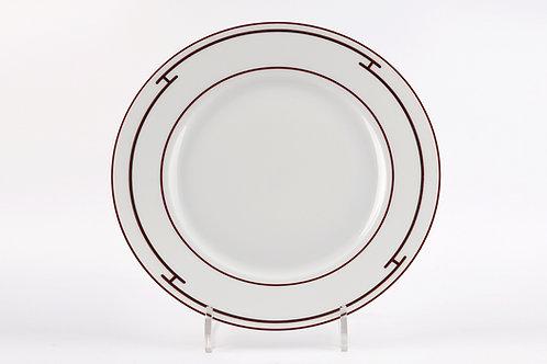 Столовый набор тарелок Red Platine, Hermes