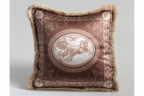 Диванная подушка «Колесница» (бежевая), Versace Home