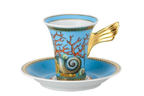 Кофейная пара эспрессо Tresors De La Mer, Versace&Rosenthal