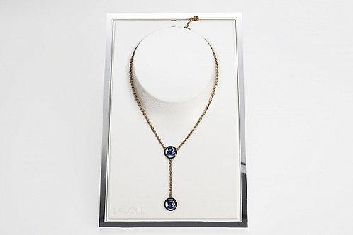 Колье Y 2 Saphir Plague Or, Lalique