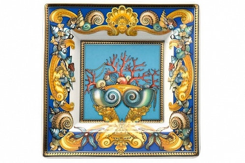 Блюдце квадратное Tresors De La Mer, Versace&Rosenthal