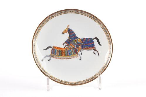 Тарелки Восточная лошадь, Hermes