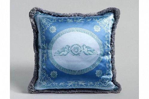 Диванная подушка «Ангелы» (голубая), Versace Home