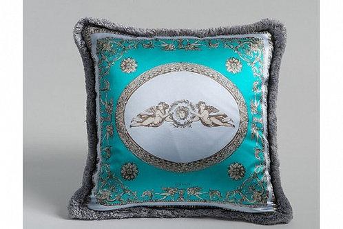 Диванная подушка «Ангелы» (бирюза), Versace Home