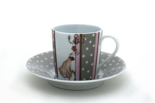 Кофейный набор Mademoiselle S'amuse, Haviland
