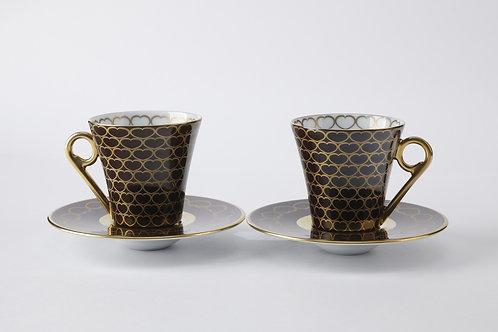 Кофейный набор Onze de Coeur, Haviland