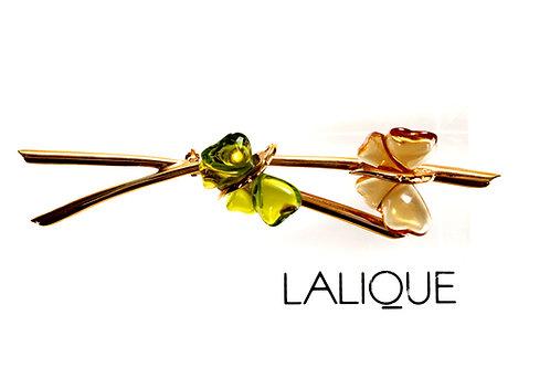 "Брошь ""Бабочки"", Lalique"