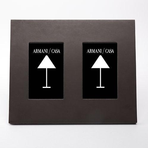 Рамка для фото Lucido (двойная), Armani/Casa
