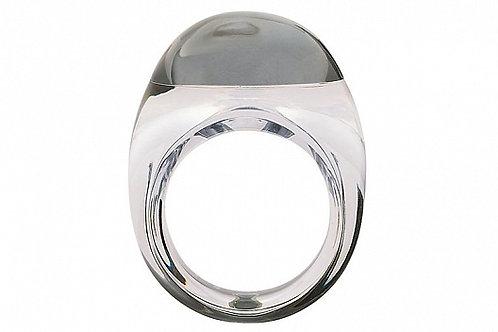 Кольцо Tango (прозрачный и серый), Baccarat